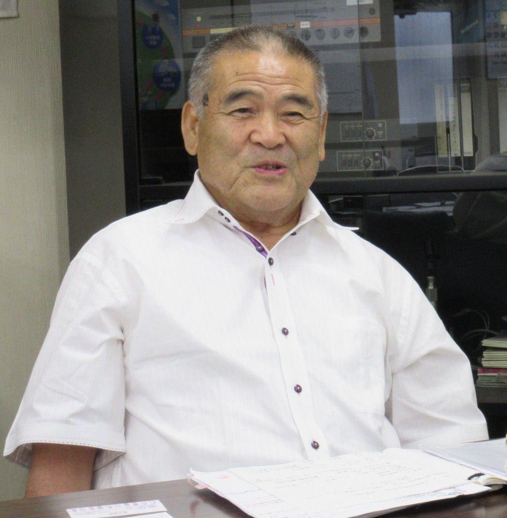 代表取締役社長 荻野勝治さん
