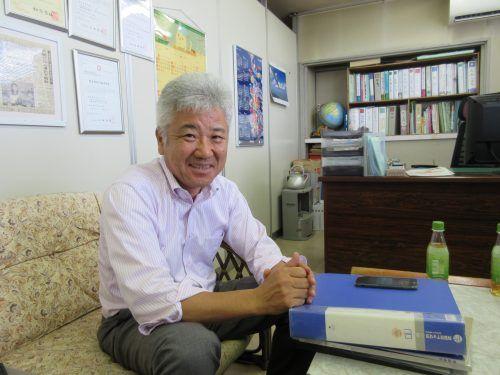 代表取締役 初野直樹さん