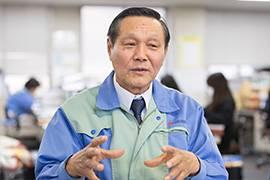 総務部求人担当課長の菅原芳郎さん