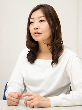 取締役社長、櫻井理恵さん