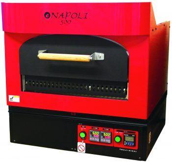 ナポリ・ピッツァ専用の電気石窯「イーナポリ500」